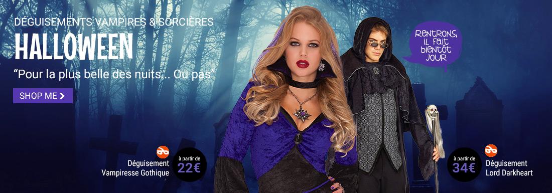 Halloween sorcieres et vampires Guizme