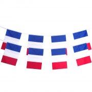 Guirlande 20 Pavillons France En Plastique -10 M
