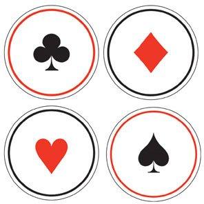 6 dessous-verres Casino