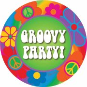 8 Assiettes Groovy Party !