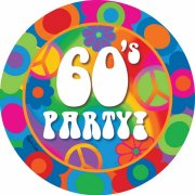 8 Assiettes 60's Party !