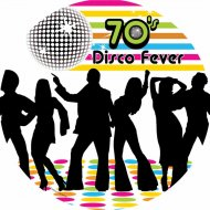 8 Assiettes Disco Party 70's