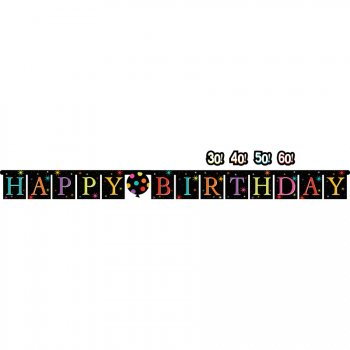 Guirlande Happy Birthday Life is great