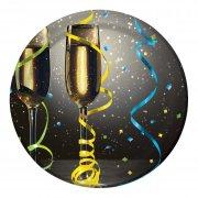 8 Petites assiettes Champagne !