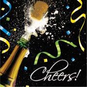 18 Serviettes Champagne !