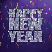 18 Serviettes Happy New Year Danse