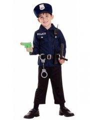 Set Déguisement Policier 3-5 ans