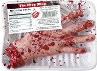 Main coupée emballée