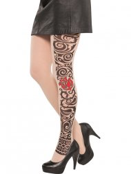 Collants Tatouage Dark Tattoo
