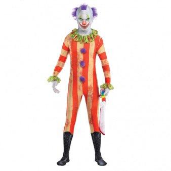 Déguisement Combinaison de Clown Dément Adulte