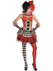 Corset Clown Burlesque Halloween