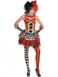Corset Clown Burlesque Halloween