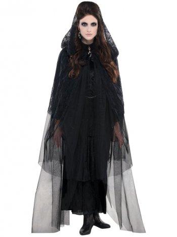 Cape Voile Gothique Vampiresse