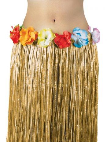 Jupe Tahitienne avec fleurs