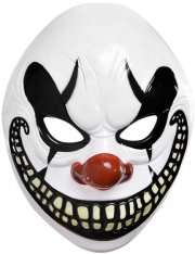 Masque Clown Maléfique PVC
