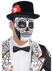 Masque Squelette Calavera - Mixte