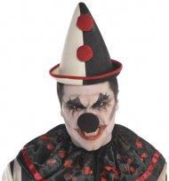 Chapeau de Clown blanc
