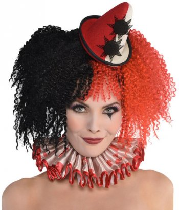 Mini Chapeau Clown Burlesque Halloween