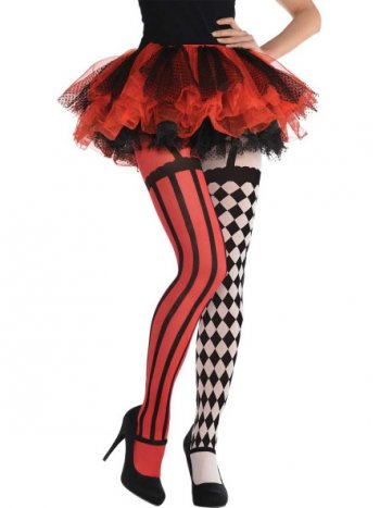 Collants Clown Burlesque Halloween
