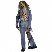 Déguisement de Squelette Zombie Cheveux longs