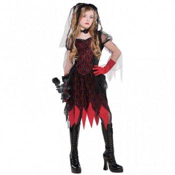 Déguisement de Fiancée Zombie Gothique