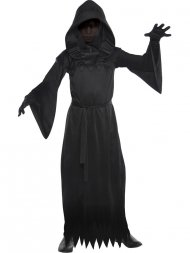 Déguisement Fantôme Noir - Enfant