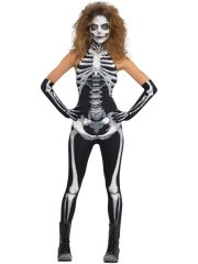 Déguisement de Squelette Femme
