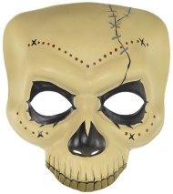 Demi Masque Squelette Vaudou