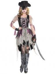 Déguisement de Pirate Zombie Femme