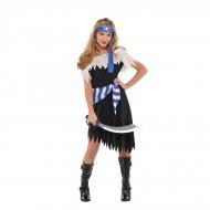 Déguisement Pirate Fille Blue Girl