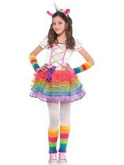 Déguisement Miss Licorne Rainbow
