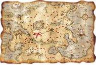 Carte de l'île au trésor