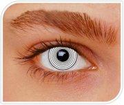 Lentilles Hypnose Blanc - 1 mois