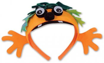 Serre-Tête Citrouille Fun
