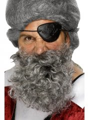 Barbe grisonnante de Pirate