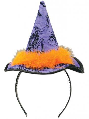 Serre-Tête Chapeau de Sorcière