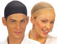 2 Bonnets de Maintien pour Perruque (Noir/Chair)