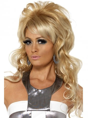 Perruque de Queen Beauty blonde