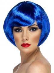 Perruque Sexy Babe Bleu Nuit