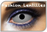 Lentilles Sclera Blanches unies - 1 an