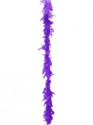Boa plumes Violet