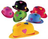 Chapeau Melon Coeurs