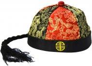 Chapeau de mandarin avec tresse