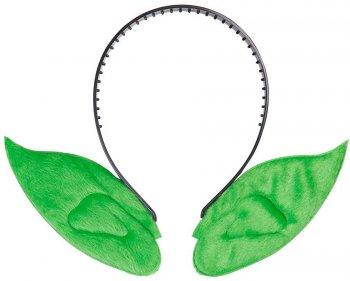 Serre tête à oreilles vertes