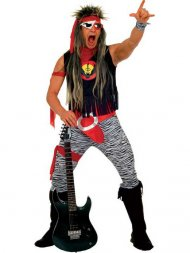 Déguisement de Rock star