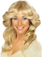 Perruque Diva 70's Disco Blonde