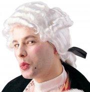 Perruque Louis XVI blanche