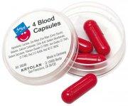Boîte de 4 Capsules de Sang