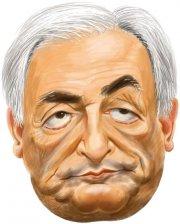 Masque Caricature Dominique Strauss-Khan