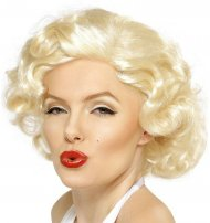 Perruque Marylin Monroe